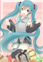 Hatsune Miku by SY1755