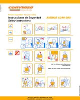 Safety Card Conviasa - Front by l0nd0n