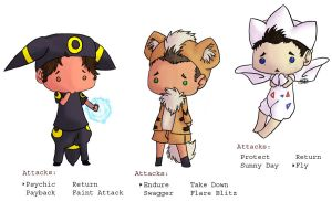 SPN and PKMN Fusion by Kaname-Natsumi
