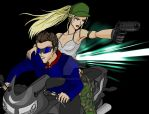 Johnny Cage X Sonya Blade by divadonna224