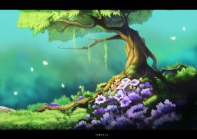 Tranquil Tree by FirstiArt