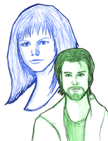 Primeval - Connor and Abby by Loralthea