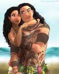 Moana X Maui // A Day on the Beach by TeraStormTAS