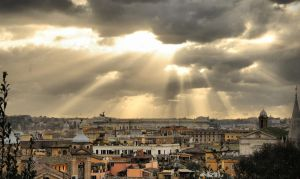 Roman View HDR III by VeryBadGirl