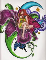 Fairy Tattoo by SessInSunglasses
