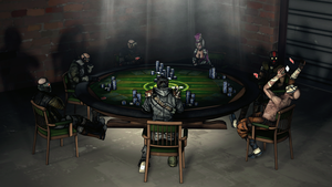Poker Night by PrincessBloodyMary