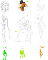 Ring Master Early Ideas by InvaderJoe1