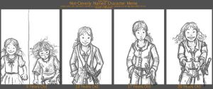 Character Age meme : Elsin by angelac