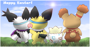 Happy Easter 2014 by pichu90