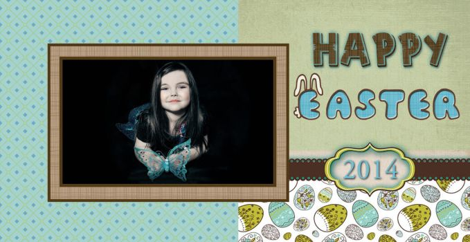 Free Blank and Easter Card - PNG and PSD by BlissfuLLimaging