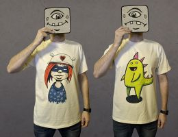 T-shirts 001 by MaComiX