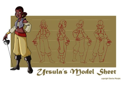 Ursulas Model Sheet by ChuckMurphy