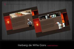 Webinterface Restaurant by simoner