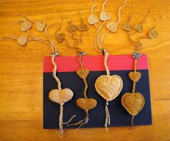 3 Page Crochet Heart Bookmark by doilydeas