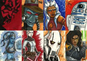 Sketch cards 1 by RachelWard