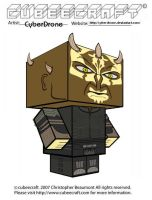 Cubeecraft - Savage Opress by CyberDrone
