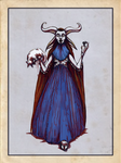 Tarot 2 - High Priestess by Veitstanzproject