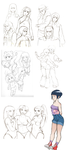 Old Naruto Sketches by Cocodoo