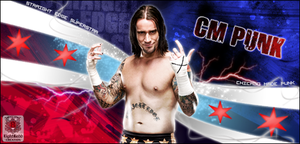 CM Punk by EightRedd