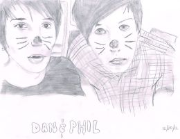Dan and Phil by grelltheripper