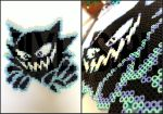 Haunter Perler Bead Art - Pokemon by pixelsirl