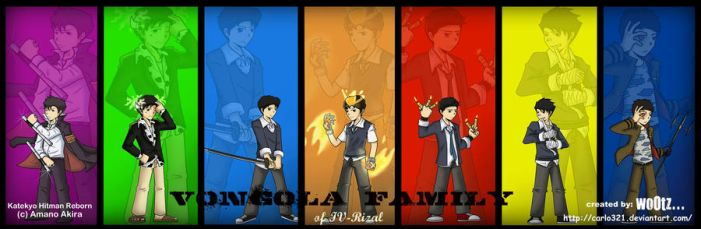 vOnGoLa FaMiLy crossover.... by carlo321