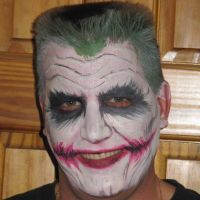 joker facepaint by carlmann