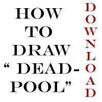 how to draw deadpool by Anny-D