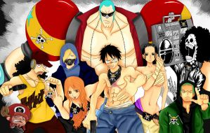 Gangsta Strawhats by tiffany42