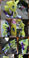 Renamon Cosplay - Aninite 2011 by PinkuArt
