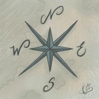 Sketches: Compass Rose by NAD-LifeOfficial