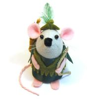 Robin Hood Mouse by The-House-of-Mouse