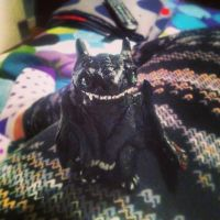 Toothless, not so toothless. by UglyDoll311