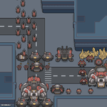 Pixel #9: Black Depot Down! I repea- It's a Trap! by Revangale