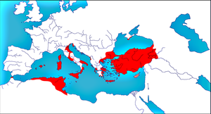 Roman Empire in 661 by woodsman2b