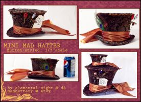 Miniature Mad Hatter by Elemental-Sight