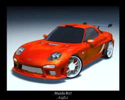 Mazda RX7 Custom by AndyBuck