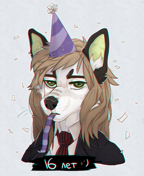Happy birthday to me (May 15, 2017) by Fewtish