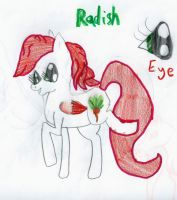 mlp char: Radish by CanineCriminal