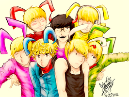 Bunnies Are Puffy B.A.P by man95