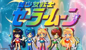 Sailor Moon Inner Scouts by LadyAriessTemptra