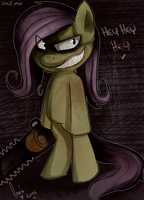 Shed.mov Fluttershy by Ana-Vanexitax