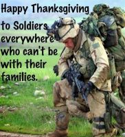 Happy Thanksgiving to our soldiers by MatakietheHedgewolf