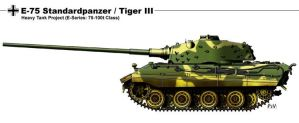 E 75 Standarpanzer Tiger III by nicksikh