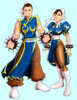 Two Versions of Chun-Li by andre4boys