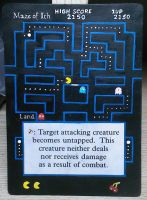 Maze of Ith (Pacman) by diemwing