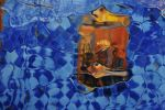 Lapis Allure - Oil Painting by AstridBruning