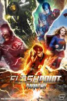 The Flash CW FlashPoint Paradox Fan Poster by Bryanzap