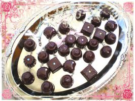 Chocolate Platter by Corselia