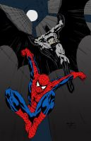 Batman and Spider-Man by SheldonGoh by edCOM02